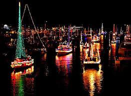 Lighted Boat Parade Santa Cruz